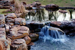 A Place to Meditate (crossmage) Tags: park reflection water creek laughing worship rocks texas peace god joy waterfalls serenity recreation leaping sugarland oystercreek assignmenthouston assignmenthouston21 assignmenthouston21placesofworship songofthewaterfall