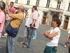 CIMG3680 (El Gran Dee) Tags: street big fat large pedestrian belly chubby gordo peaton