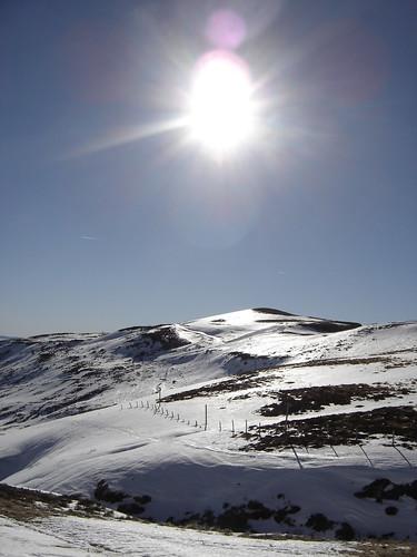 Montagne sous le soleil