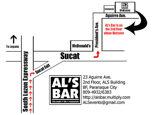 AL's Bar in BF Paranaque