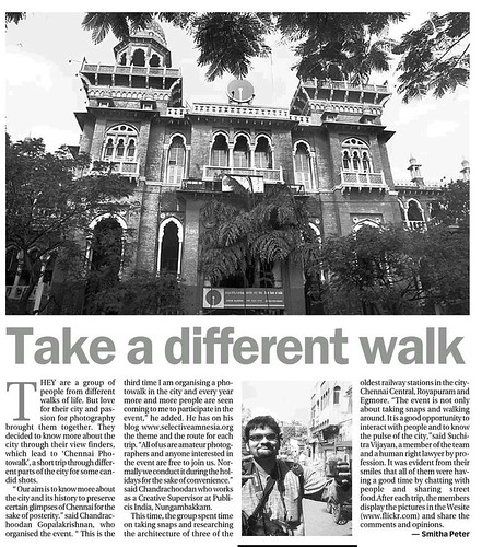 The Third Chennai Photowalk
