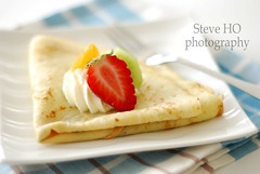 Chandeleur morning (*steveH) Tags: food fruit strawberry sweet crepe clementine kiwi crepes crpes chandeleur crpe steveh