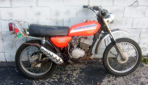 1974 Suzuki TC125 Prospector – Evan Fell Motorcycle Works