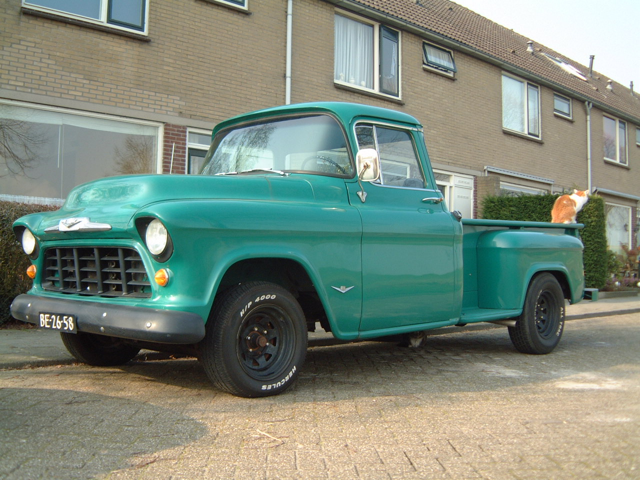 chevy pick up oldtimer