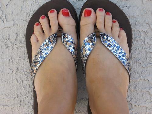 My New Flip Flops
