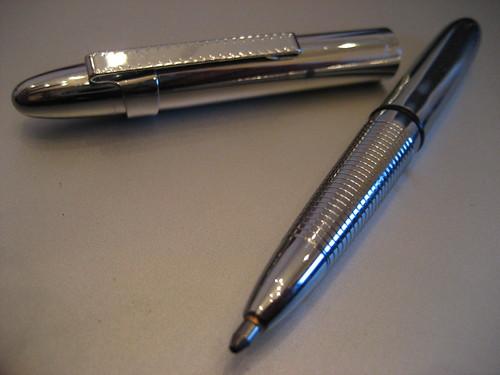 Bolígrafo de la Nasa para gravedad cero
