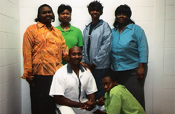 Georgia death row inmate Troy Davis and his family. The State Supreme Court upheld his conviction on Wednesday, March 19, 2008. The 11th Circuit Court of Appeals denied his motion for a new trial in April 2009. by Pan-African News Wire File Photos