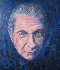 Leonard Cohen, head of a poet (Martin Beek) Tags: blue portrait musician music colour art portraits er head musical portraiture singer poet jewish despair catalogue inventory songwriter oldwork leonardcohen theblues musicmaking paintingsofpeople bluevision mybackpages oilportraits martinbeek theartofmusic allthingsblue thecolourblue headofapoet portraitsandlifepaintings portraitsandlifepaintings19802008 martinbeek martinbeeksportraitandlifepaintings paintingsdrawingsandartworks art19802008 portraitsandlifepainting leonardcohenwordsandimages alifeinart aworldofblue musicinart martinbeekportraits martinbeeksportraits martinbeeksworks art19802010 portraitsbymartinbeek