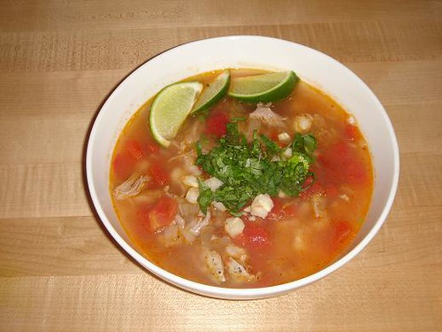 Chipotle Pork Posole