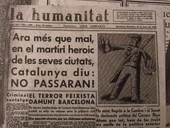 Bombardeig a Barcelona Març 1938