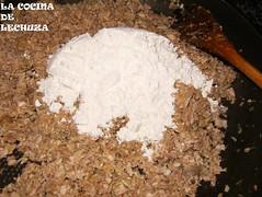 Croquetas-añadir harina