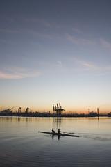 Port of Los Angeles Sunrise