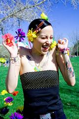 (madeofchalk) Tags: flowers vanessa model photoshoot globalvillage pottymouth globalcity invitedphotosonly gvadminshalloffame itsabeautifulgv