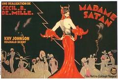 Madam Satan French poster