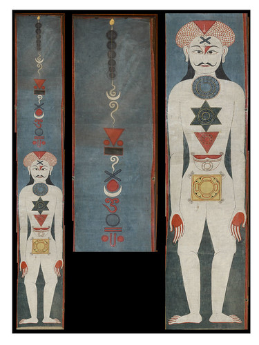 Yogic Six-Chakra Transformation (1850)