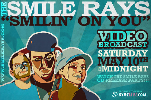 Smile Rays - video broadcast