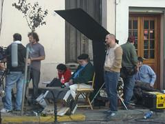 Francis Ford Coppola dirigiendo