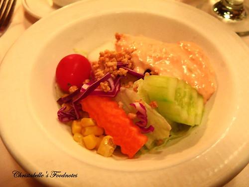紅屋牛排沙拉