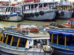 Ferries @ Bhaucha Dhakka (Sunil Kashikar) Tags: boats mumbai ferries gatewayofindia bhaucha dhakka sunilkashikar