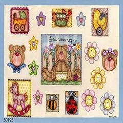 Urso (Lucia Helena Cesar) Tags: feltro urso decoupage riscos moldes aplicao patchcolagem