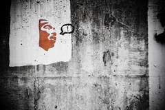 MLK Say ! (Rudy Malmquist) Tags: wall photo downtown king martin walk michigan cement grand jr rapids graffitti mlk luther grflickr