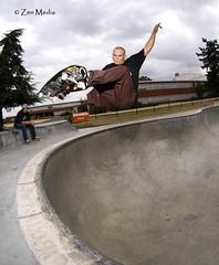 Tri-fecta - 23 (36 Frames Photography) Tags: pool oregon canon portland nikon media skateboarding daniel or bowl zen skateboard hager d100 westhaven