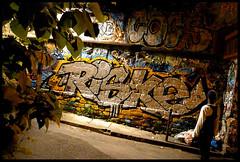 By RISKE (OPC) (Thias (-)) Tags: terrain streetart paris wall night painting graffiti mural risk spray urbanart chrome painter graff aerosol nuit bombing ermitage spraycanart ambiance opc pgc thias riske photograff frenchgraff photograffcollectif techniquegraffiti artisteriske