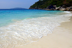 Honeymoon Bay Beach at Similan Islands, Thailand (_takau99) Tags: ocean trip travel blue sea vacation holiday beach nature water topv111 topv2222 thailand island lumix islands topv555 topv333 marine asia southeastasia honeymoon indian topv1111 topv999 indianocean topv444 321 topv222 panasonic explore topv5555 thai tropical april topv777 phuket topv9999 topv11111 topv3333 topv4444 topv666 topf10 topf15 similan khaolak 2007 andaman andamansea topv888 topv8888 topv6666 topv7777 honeymoonbay similanislands topf5 topf20 fx30 similanisland takau99 explore100 edive dmcfx30
