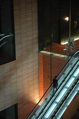 After Work (Joopey) Tags: autumn fall japan nikon d70 escalator d70s nippon shiodome movingstaircase