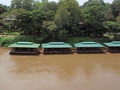 Kwai River Thailand (Giorgia Fuschini) Tags: river thailand kwai