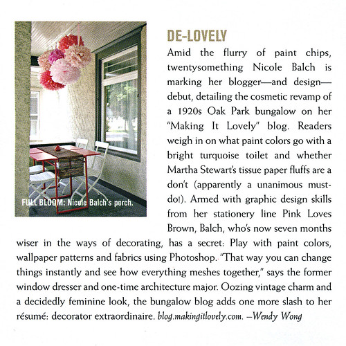 CS Interiors: De-Lovely