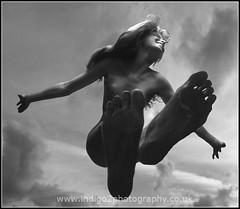 Dancing on air (paul indigo) Tags: sky girl dance air