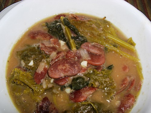 Western Orthodox Christmas Beans & Greens Soup