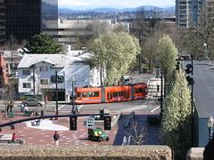 Portland Streetcar Plaza