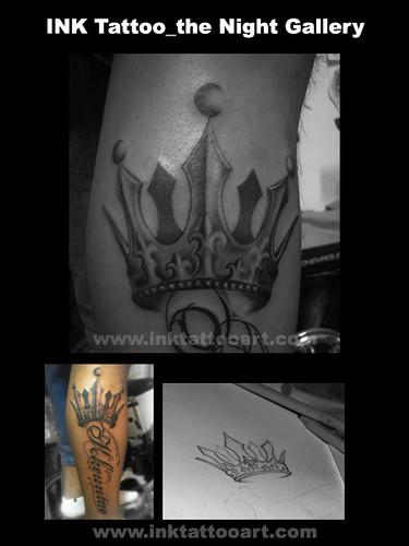 Tattoo Black, Ink Tattoo  - Chicano Style