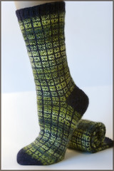 No-Swatch Toe Up Socks