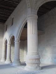 columnas (melimexi) Tags: shadow mexico colonial oaxaca colum columna mixteca teposcolula rutadominicana