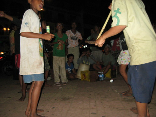 Street music in Cambodia