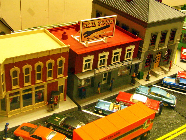 Model Train Display #1