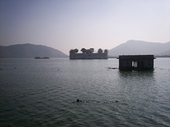 Jal Mahal in Jaipur, India.