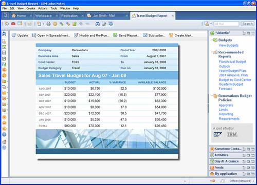 """""""Atlantic"""" from IBM Lotus and SAP"""