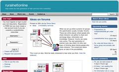 ruralnet online co-design website