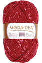 moda dea silk'n wool blend in sangria