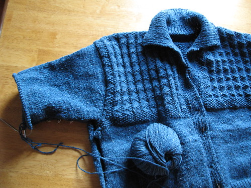Yoke Pattern Jacket
