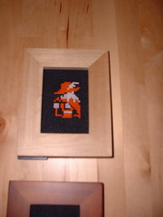 Red Mage (benjibot) Tags: xmas holidays crossstitch crafts videogames nes finalfantasy