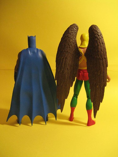 Earth Two Batman and Hawkman