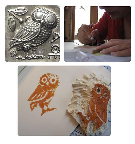 Greek Athena Owl Process
