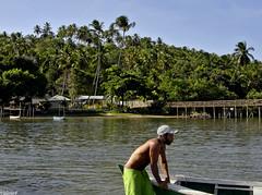 Trilhas Holandesas (ValerioFigueiredo) Tags: brazil sky praia water brasil pernambuco boatman paisagens vilavelha patrimonio itamarac barqueiro dscp93a itamaracaisland trilhasholandesas
