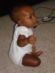 bouncing baby girl (missmarikano) Tags: baby cute girl bouncing