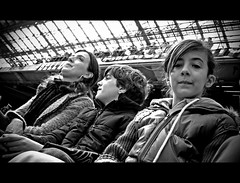Meazza's day (ssq oln qp giulio bassi) Tags: family blackandwhite bw football bn sansiro biancoenero calcio meazza interphoto giuliobassi